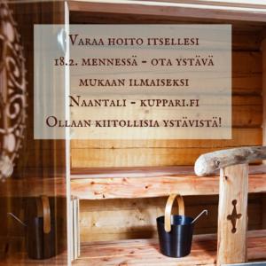 kuppaus lahjaksi, sauna, kuppari, kansanparannus, folklore-elämys